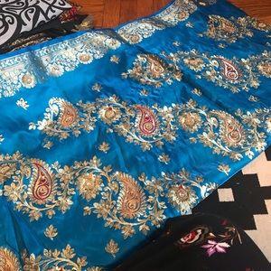 Dresses & Skirts - Fancy blue Saree